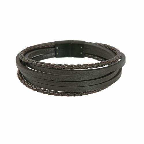 Black Sea Leather Multi Cord