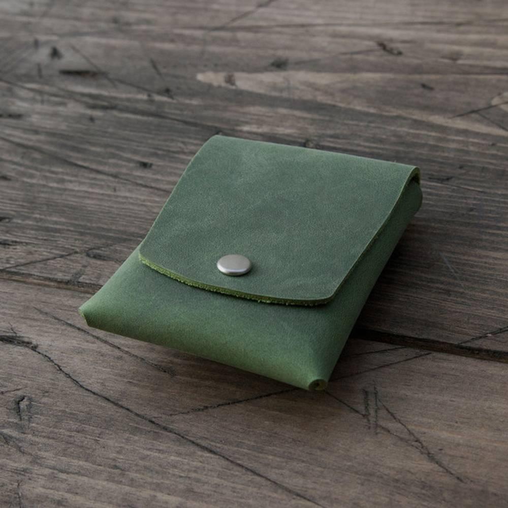 Green Snap Card Case - Grams28