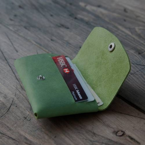 Green Snap Wallet - Grams28