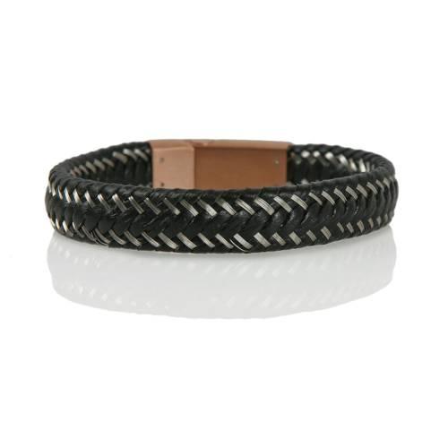 Kayseri Braided Leather Cord