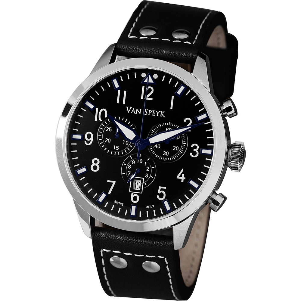 Van Speyk Dutch Pilot DZ Watch