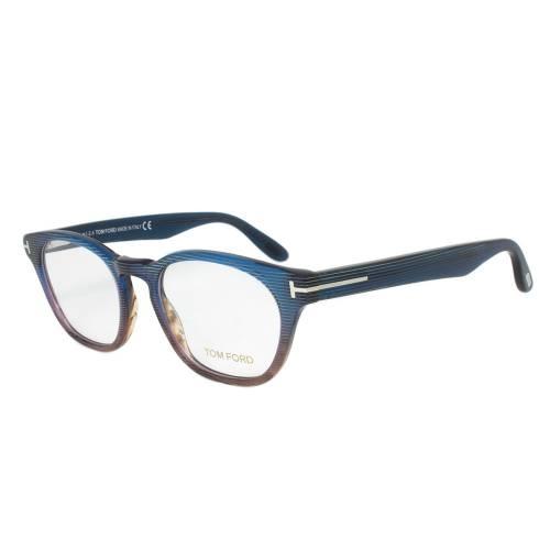 Turquoise/Brown Wayfarer Eyeglasses Frame   Size 49