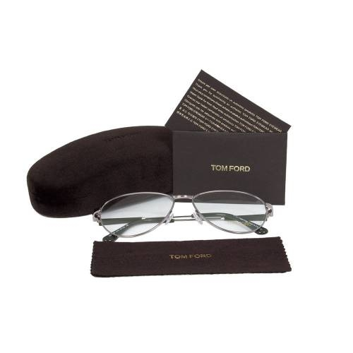 Light Ruthenium Eyeglasses Frame | Size 57