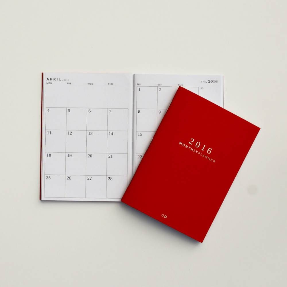 Mini Monthly Planner | Octagon Design