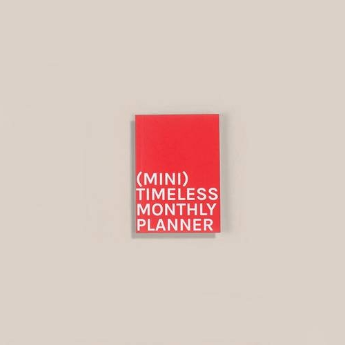 Mini Timeless Monthly Planner