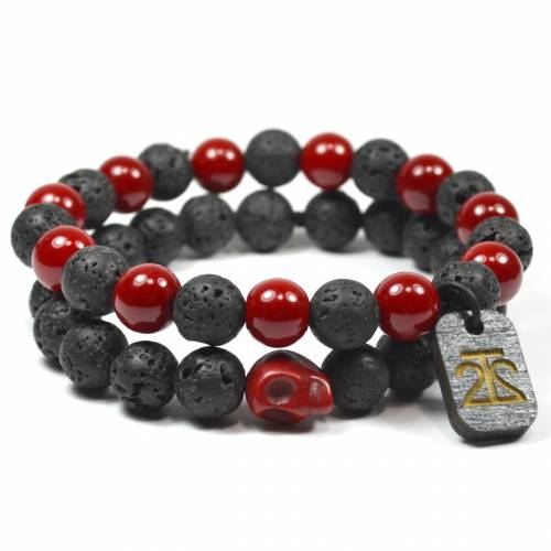 Red Lava Rock Set