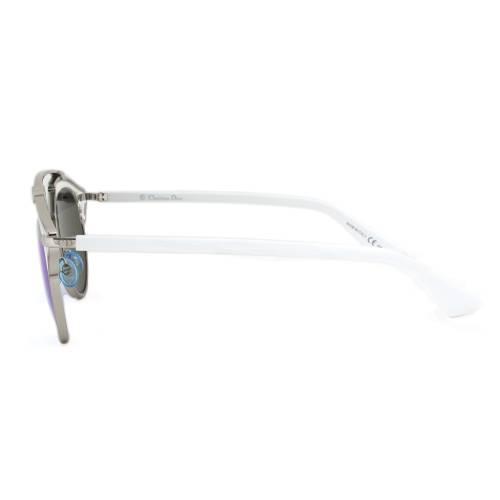 Dior I187R Sunglasses   Gunmetal/White Frame