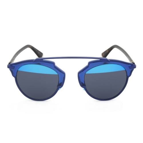 Dior KMA8T Sunglasses | Blue/Havana Frame