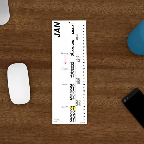 Mini Vertical Calendars Set of 2 | Nack Studio