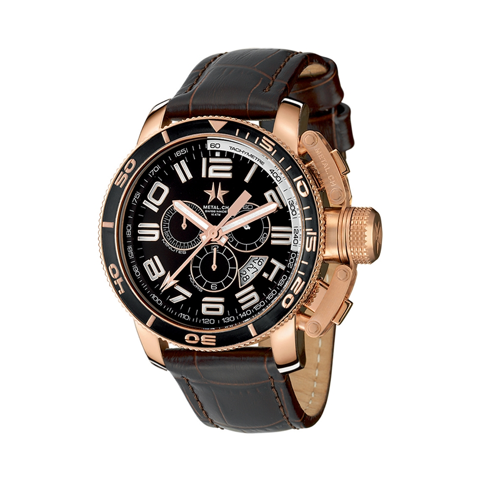 Metal CH Watch | Diver 3340