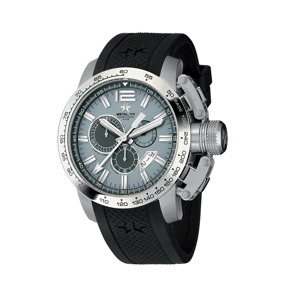 Metal CH Watch | Chronosport 4150
