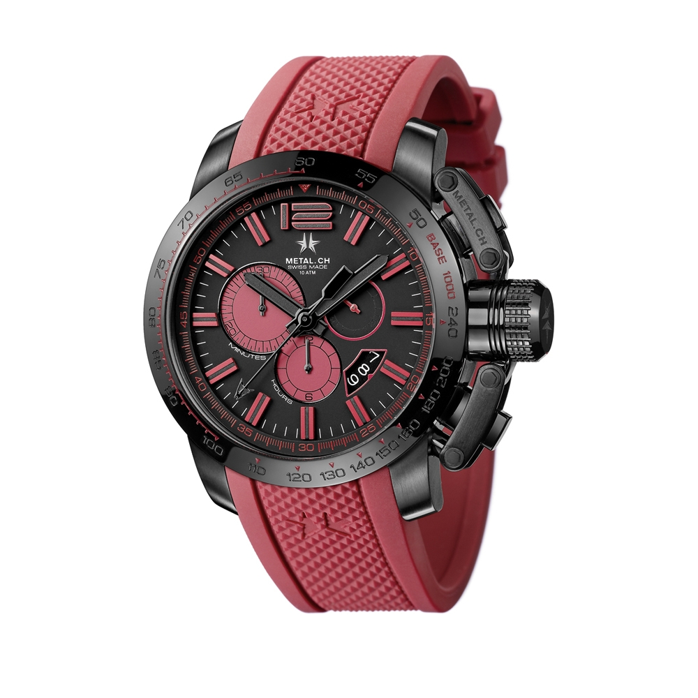 Metal CH Watch | Chronosport 4470