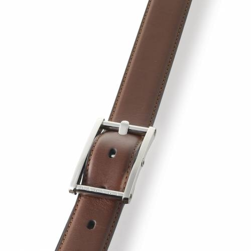 Brown Statesman Leather Belt | Dalvey
