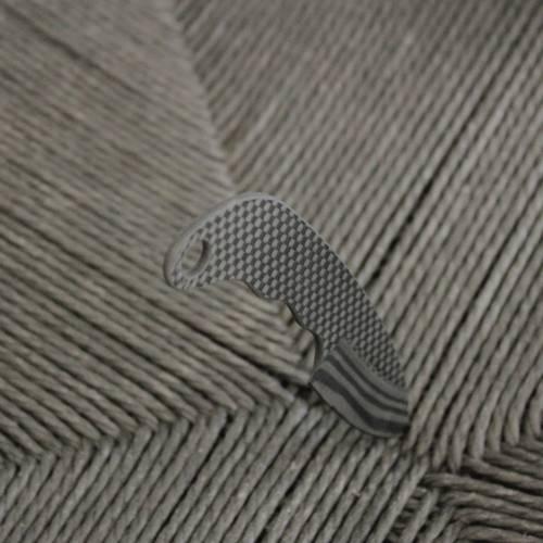 Carbon Fiber Neck Knife Curved Handle | Bastion