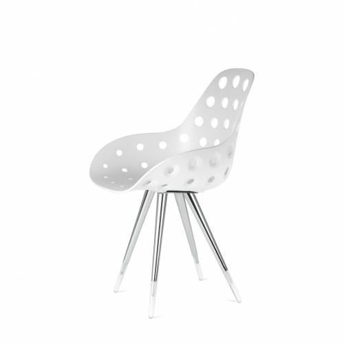 Angel Dimple Chair w/ Clear Tips | Kubikoff