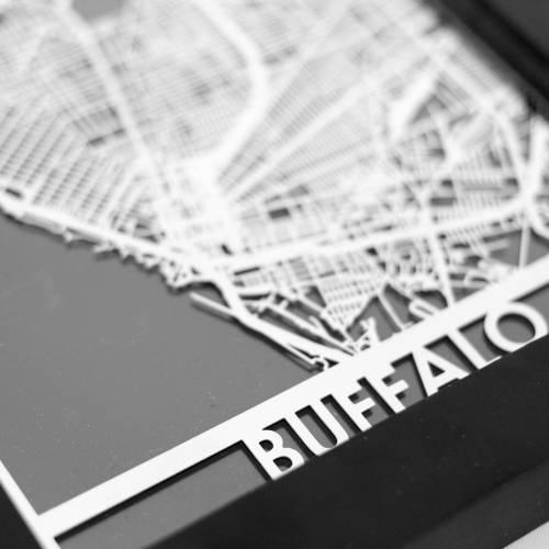 Buffalo | Cut Maps