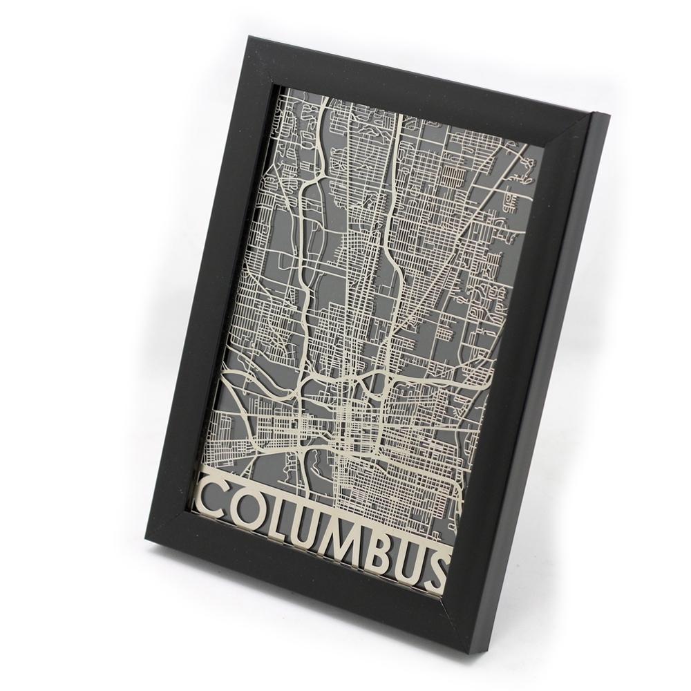 Columbus | Cut Maps