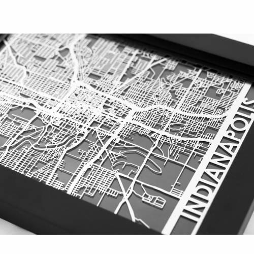 Indianapolis | Cut Maps