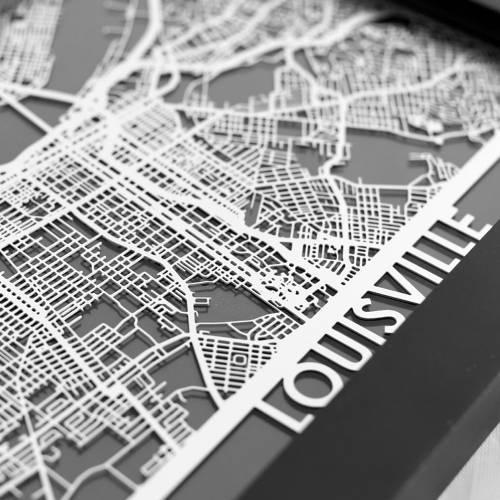 Louisville   Cut Maps