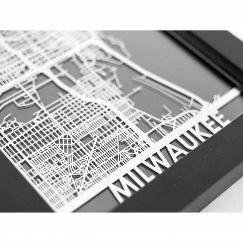 Milwaukee   Cut Maps