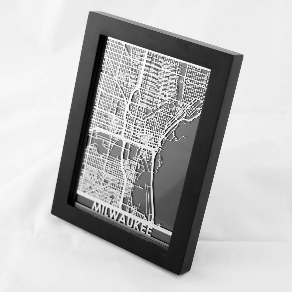 Milwaukee | Cut Maps