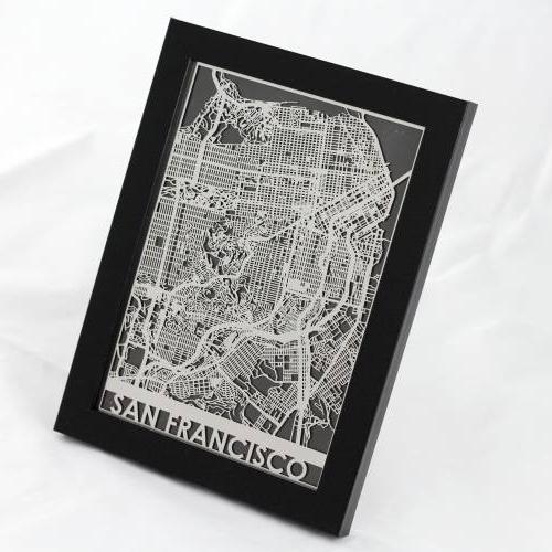 San Francisco | Cut Maps