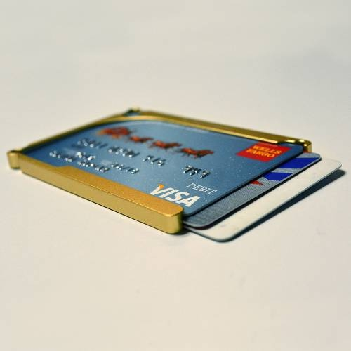 DM1: 4-Card Aluminum Wallet | Decadent Minimalist