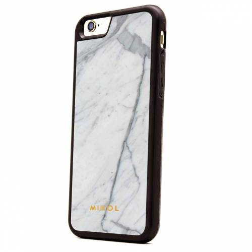 White/Black Carrara for iPhone 6/6 Plus