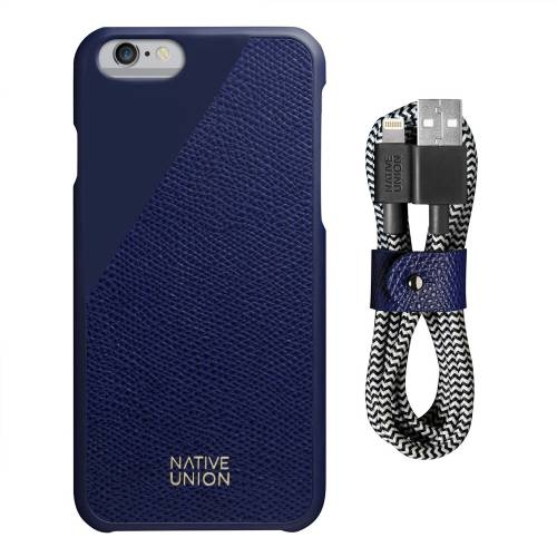 iPhone Case Set | CLIC Leather Edition | Native Union