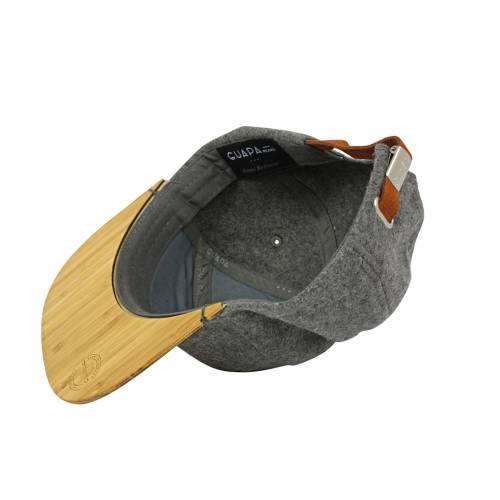 Australian Melton Wool Grey Hat   Guapa Peaks