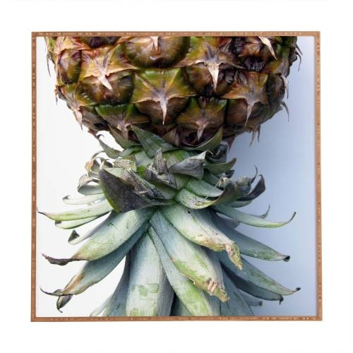 Pineapple 2 Deb Haugen Framed