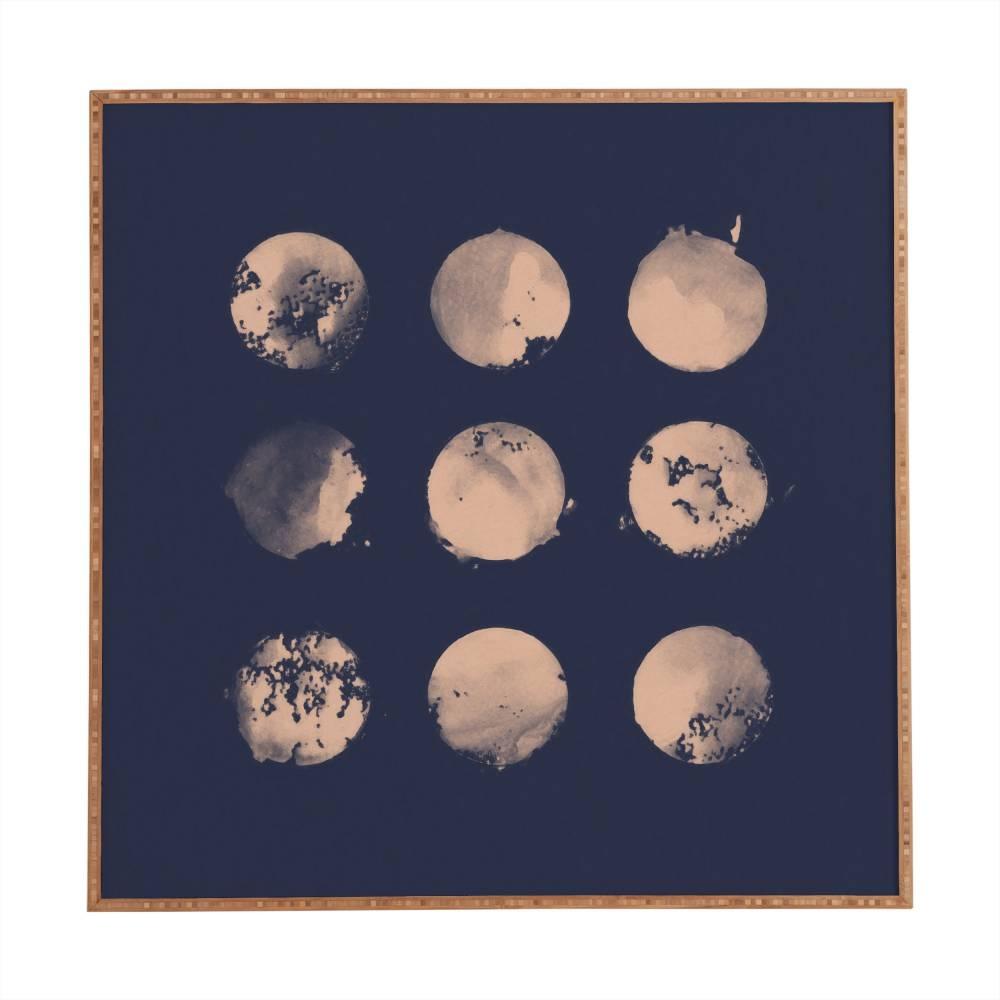 Douze Lunes Florent Bodart Framed Wall Art | Deny Designs