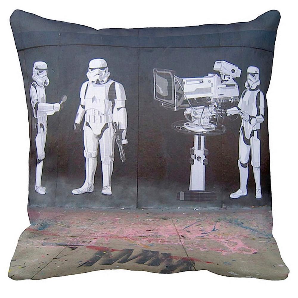 Stormtroopers Filming Oscars | Banksy Art