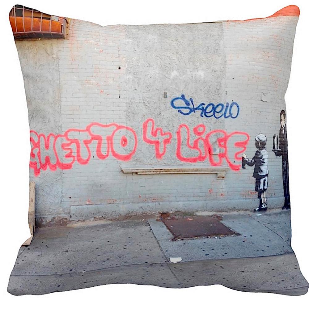Ghetto 4 Life | Banksy Art | iLeesh