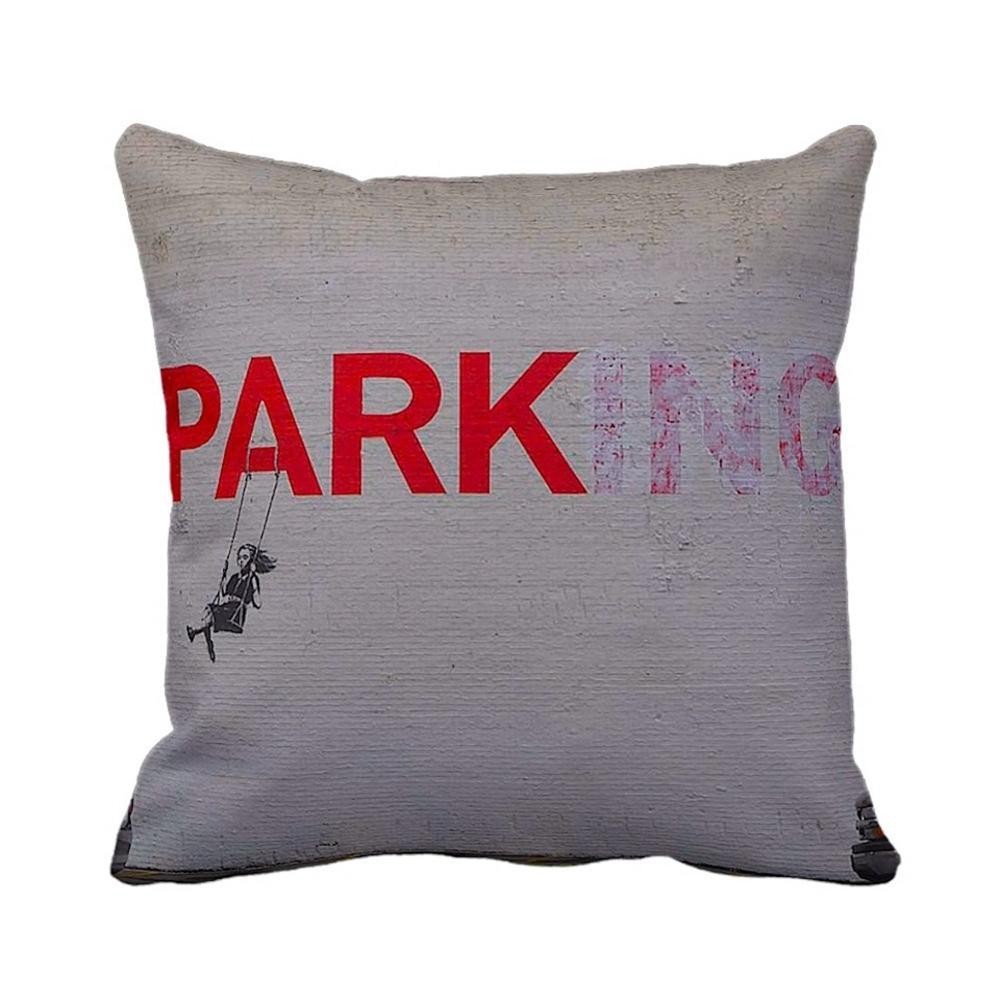 Parking Swing Girl   Banksy Art   iLeesh