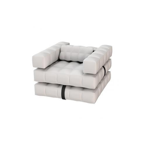 Armchair Set   Matte White