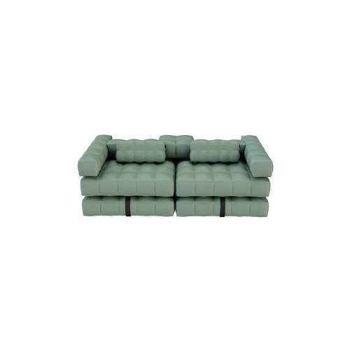 Sofa / Double Lounger Set | Olive Green | Pigro Felice