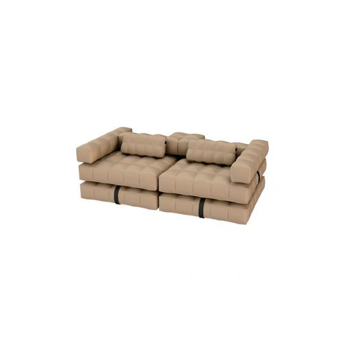 Sofa / Double Lounger Set | Sand | Pigro Felice