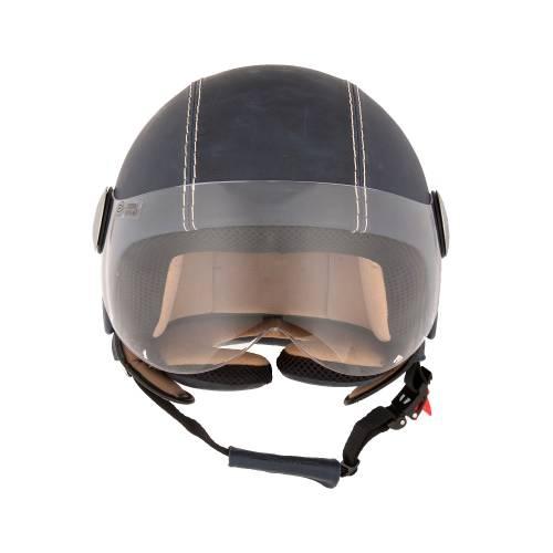 Leather Helmet | Vintage Ocean Blue