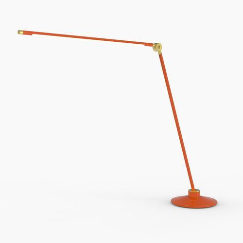 Thin T Desk Lamp | Orange