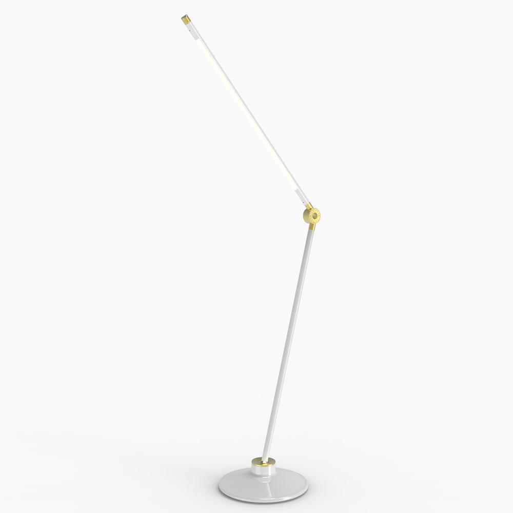Thin S Desk Lamp | White | Juniper Design