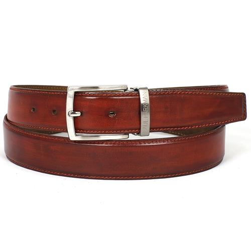 Men's Leather Belt | Reddish Brown