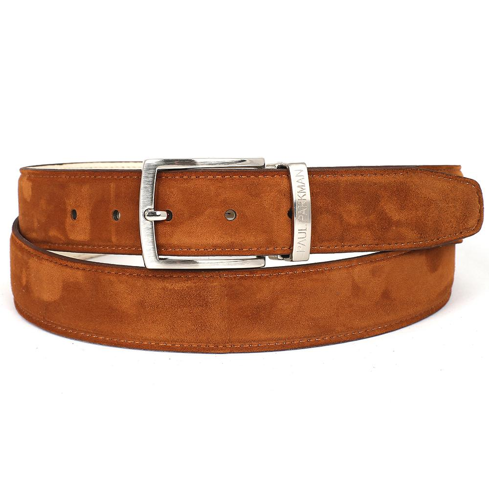 Men's Tobacco Suede Belt | Tobacco
