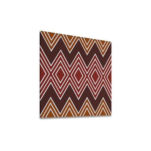 Diamonds Brown | MidcenturyArt
