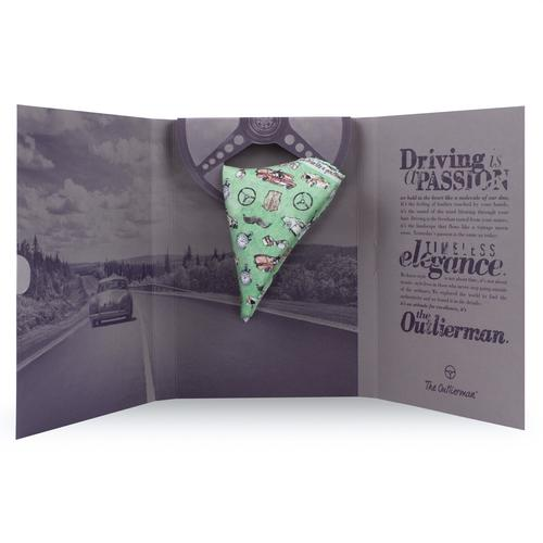 The Gentleman Driver | Silk Pocket Square | The OutlierMan