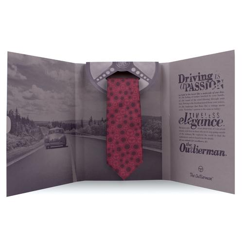 The World Beater Tie | 100% Italian Silk | The OutlierMan