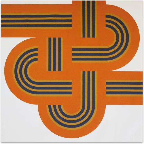 Weave Orange | MidcenturyArt