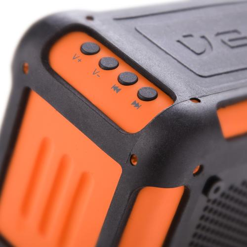 Vecto Water-Resistant Speaker   Orange Special Edition  Veho