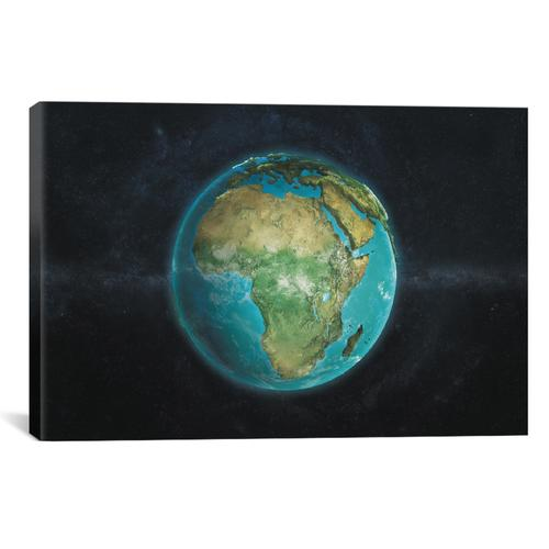 The Globe Series: A Physical View Of Africa