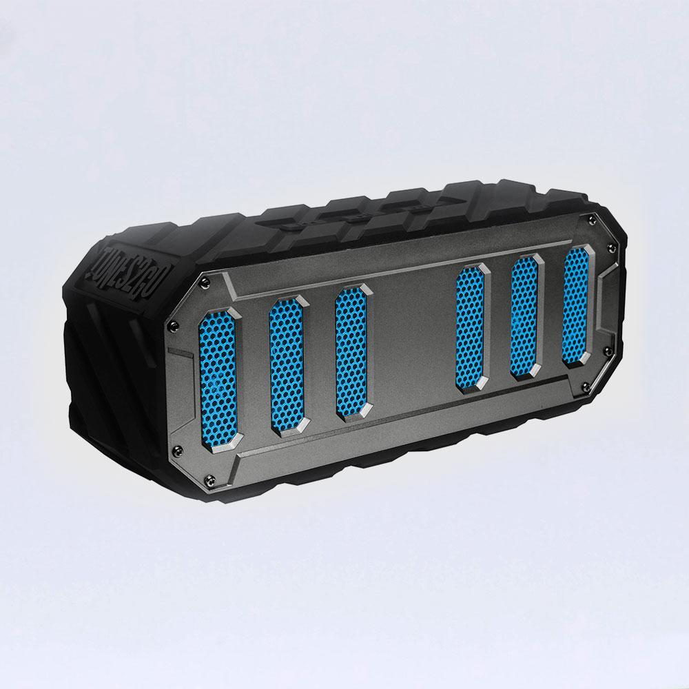 Rugged Rocker | Silver&Black | Sondpex Rugged BT Speaker